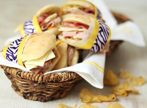 Southeast Dairy Association - Muffuletta Sandwiches