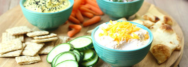 Southeast Dairy Association - Greek Yogurt Dip Trio
