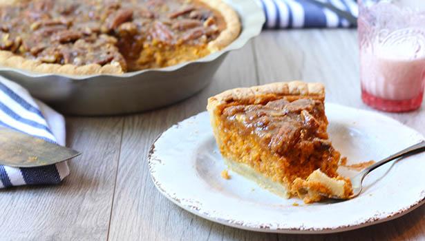 Southeast Dairy Association - Sweet Potato Praline Pie
