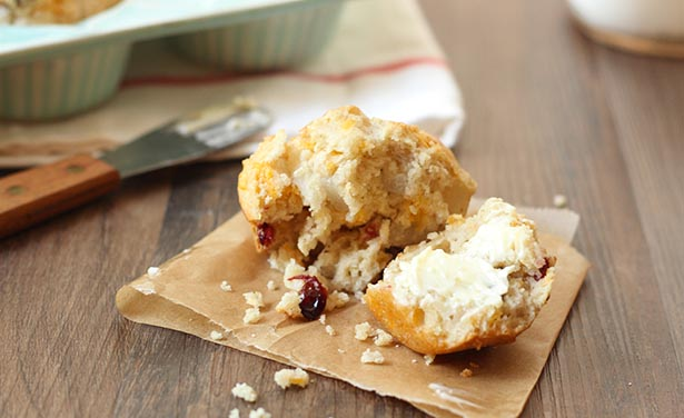 Southeast Dairy Association - Cheddar Pear Muffins