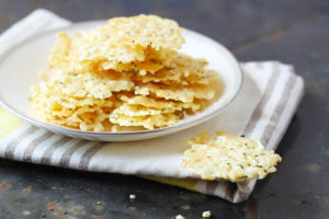 Southeast Dairy Association - Herb Parmesan Crisps