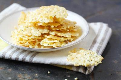 Southeast Dairy Association - Herb Parmesan Crisps