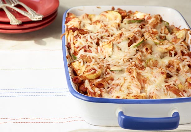 Southeast Dairy Association - Easy Italian Vegetable Pasta Bake