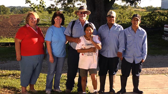 Southeast Dairy Association - Rowlett Family
