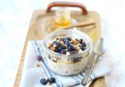 Southeast Dairy Association - Blueberry Flax Overnight Oats