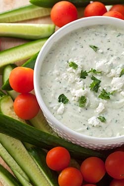 Feta Greek Yogurt Dip